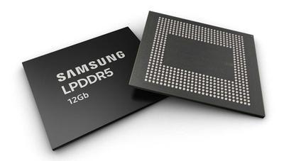 Samsung empieza a producir chips de 12 Gb LPDDR5: la RAM más rápida para móviles