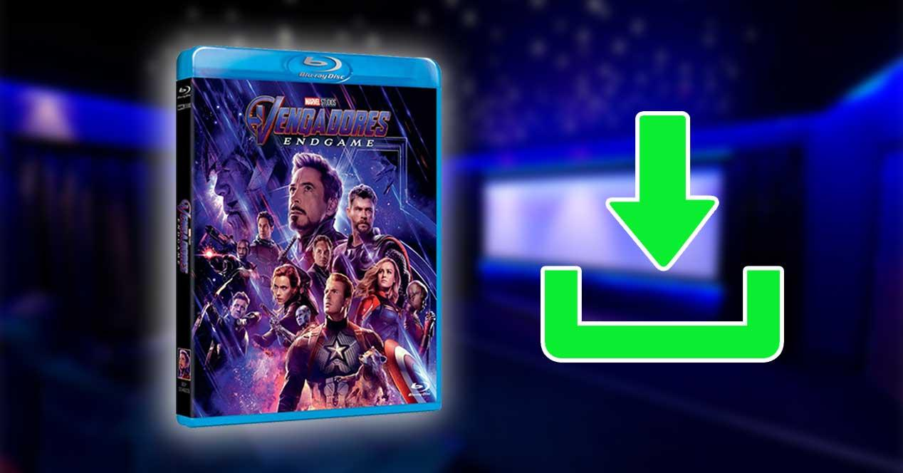 vengadores endgame bluray 4k descargar