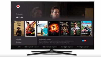 Renovado el Videoclub de Vodafone TV con una interfaz más visual y otros cambios