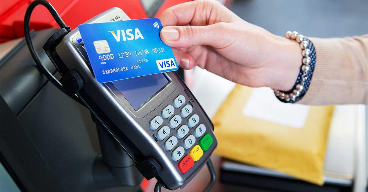 visa tarjeta pago contactless
