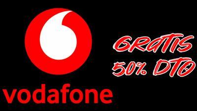 Vodafone ofrece un 50% de descuento en tarifas ilimitadas y 4 meses gratis del Pack Serielovers