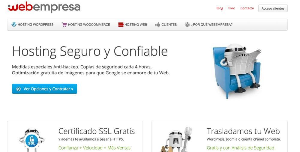 Web de Webempresa