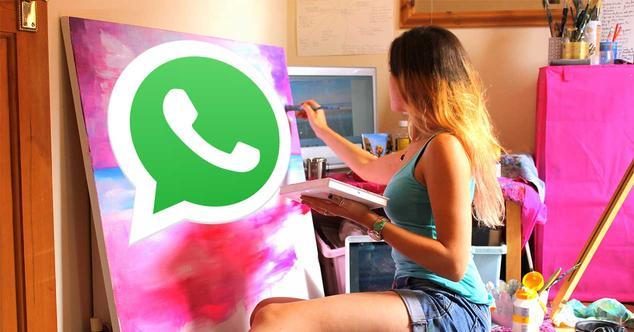 whatsapp editar fotos
