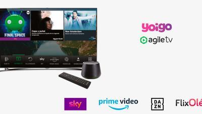 La televisión que ofrece Yoigo se refuerza con nuevo contenido para sus clientes