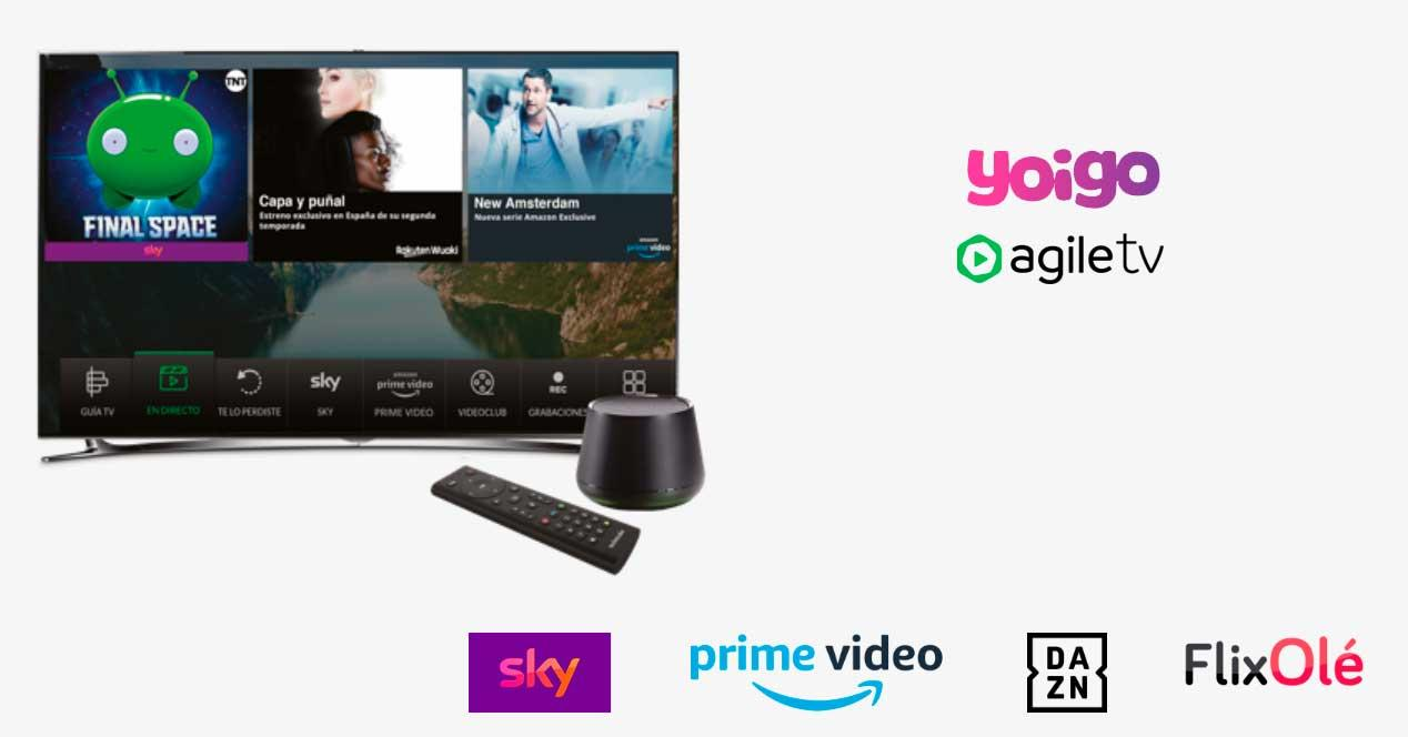 yoigo agile tv