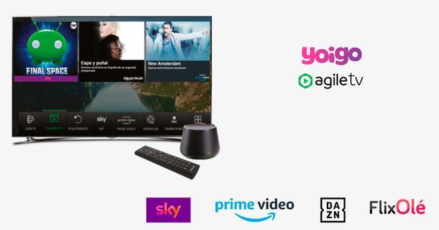 yoigo agile tv