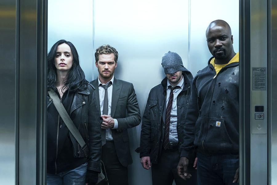 The Defenders - Mejores series de superhéroes
