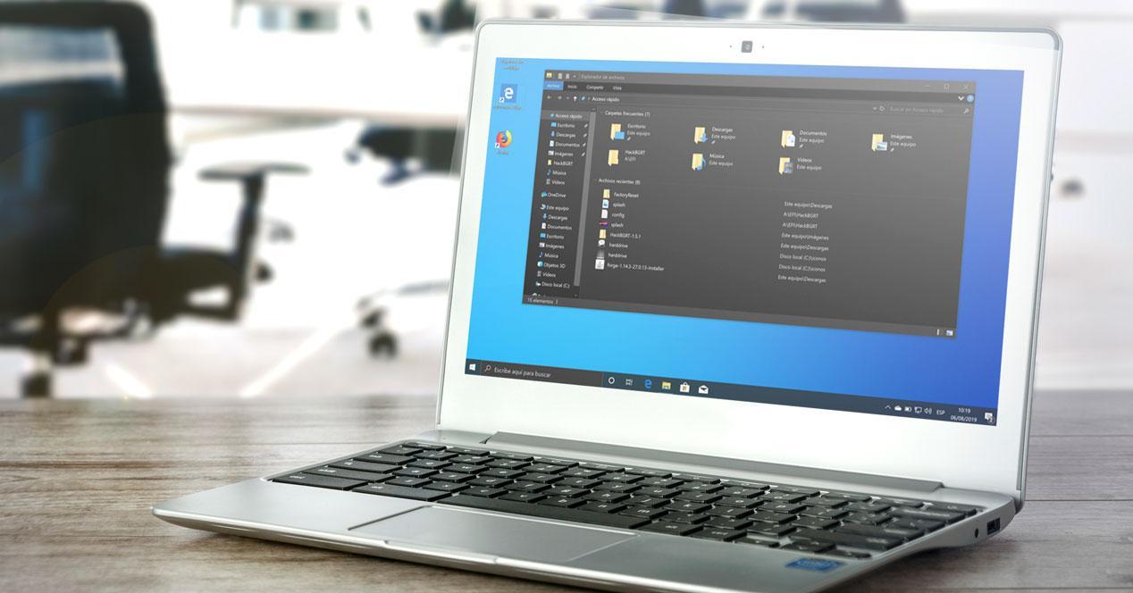Habilitar modo oscuro de Windows 10