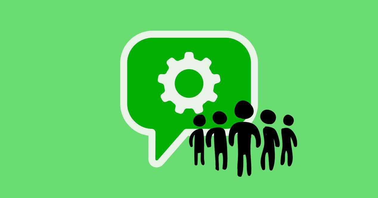 Añadir elementos a la descripción de los grupos de WhatsApp