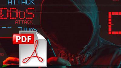 Consiguen saltarse las protecciones ante ataques DDoS usando sólo un archivo PDF