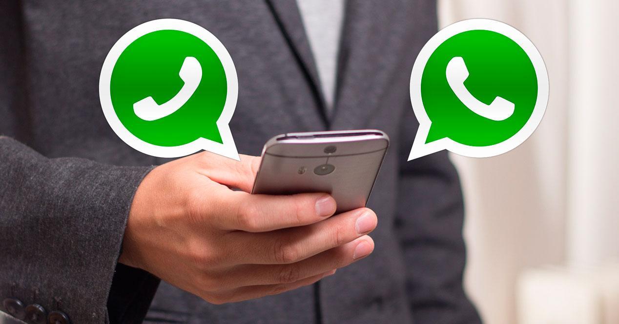 Dos WhatsApp en un mismo móvil