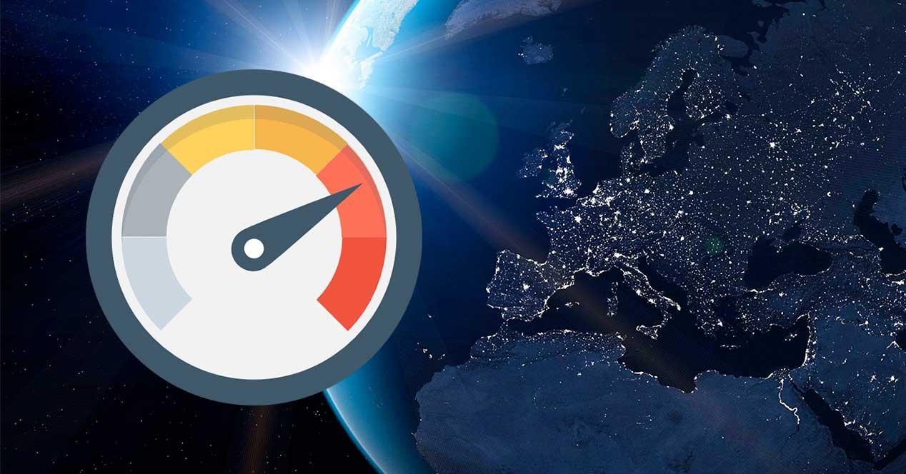 españa velocidad internet