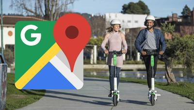 Google Maps ahora te pone más fácil saber cuánto tardas en ir a un sitio en patinete