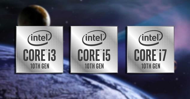 intel core 10ª generacion comet lake 14 nm