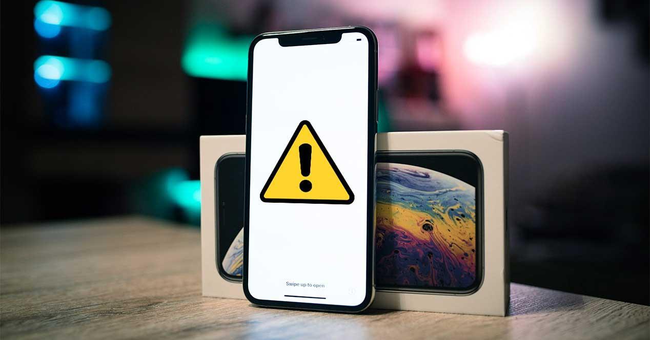 ios iphone fallo apple