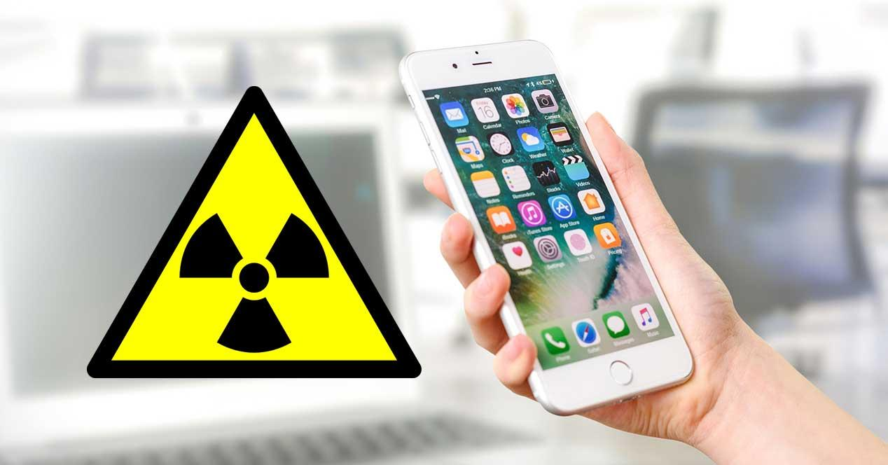 iphone 7 radiacion tasa sar