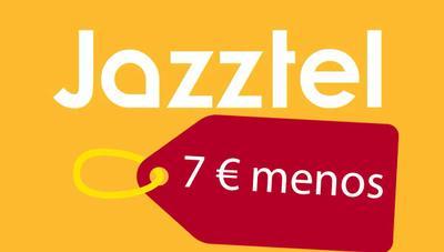 Jazztel rebajará sus ofertas de fibra hasta 7 euros en septiembre