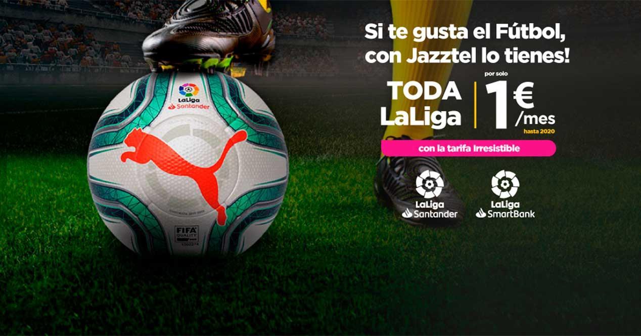 jazztel futbol oferta 2019 2020
