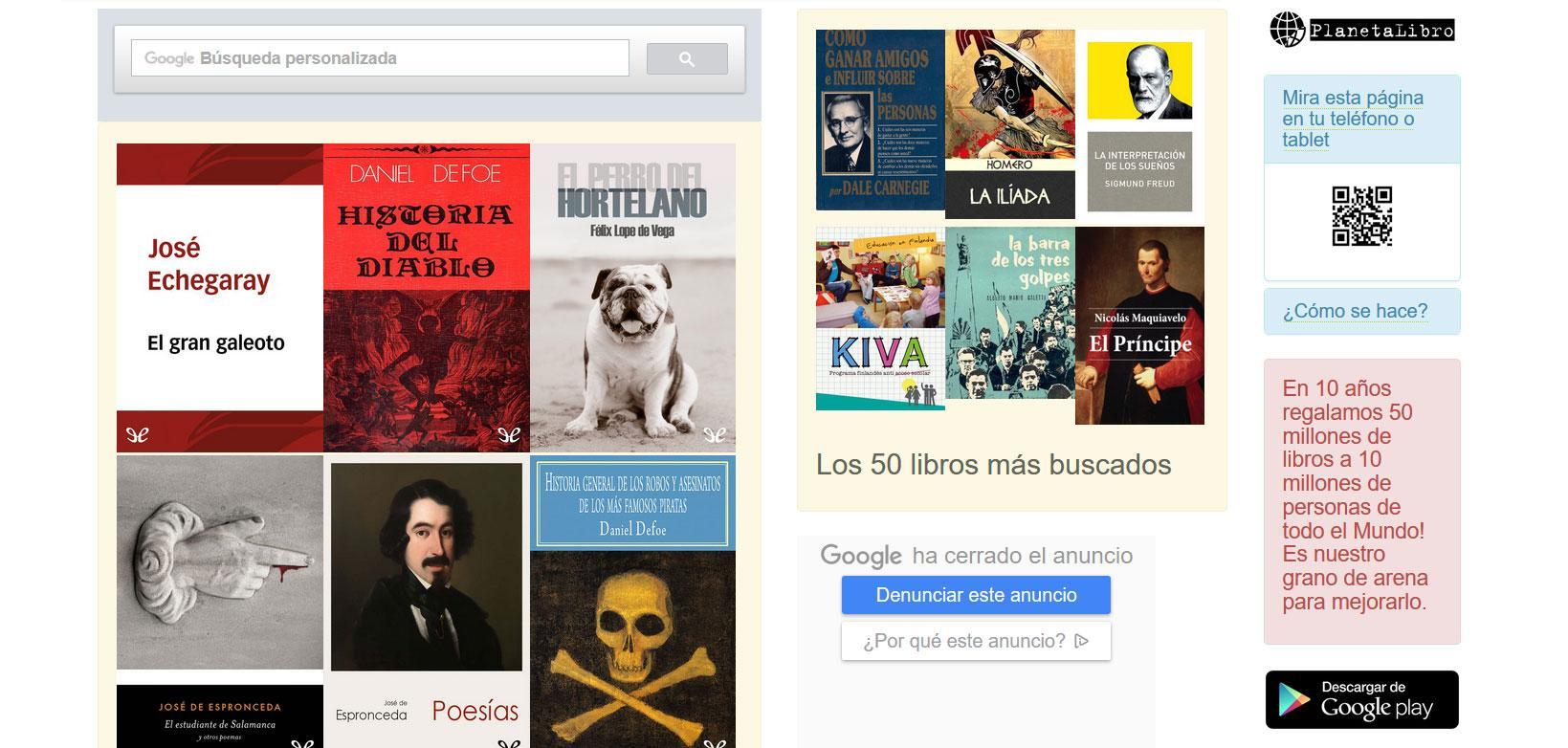 Libros electrónicos gratuitos