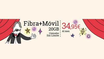 Lowi vuelve a lanzar su oferta de fibra y móvil más barata por 35 euros