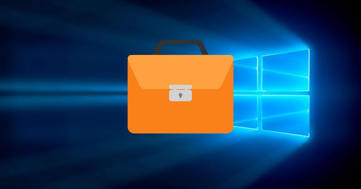 Mi Maletín en Windows 10