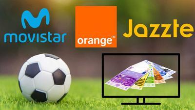 Movistar vs Orange vs Jazztel, ¿dónde es más barato ver todo el fútbol?