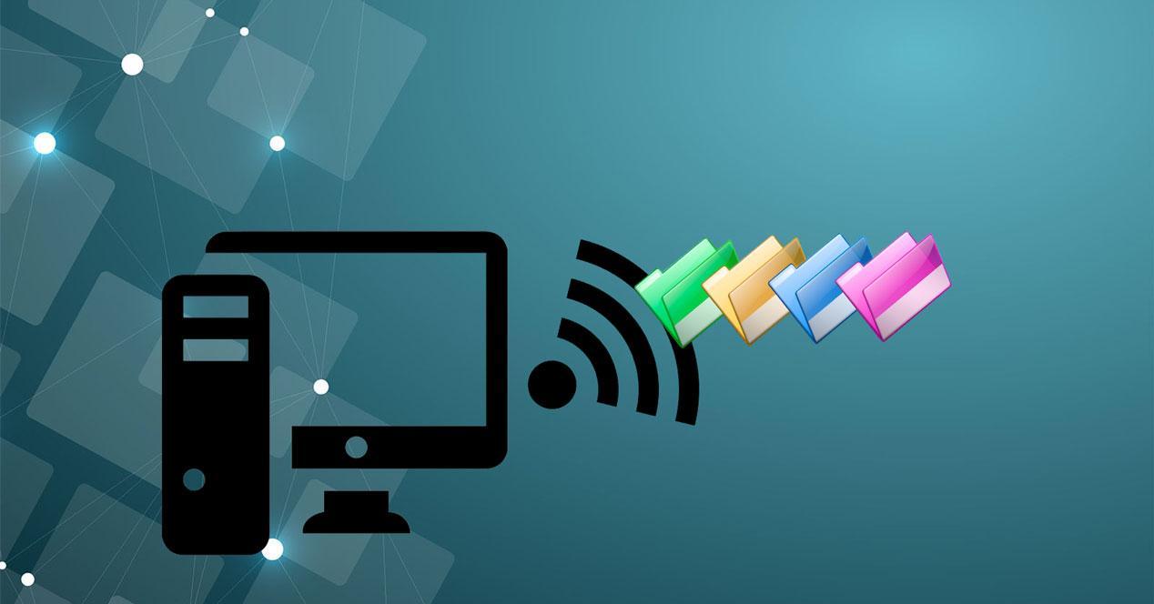 Cómo pasar archivos de un PC a otro por WiFi