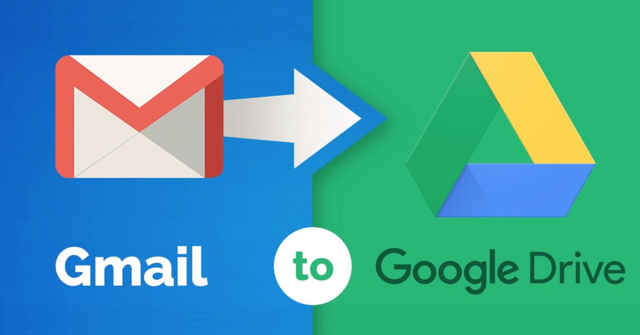 Cómo pasar correos de Gmail a Google Drive