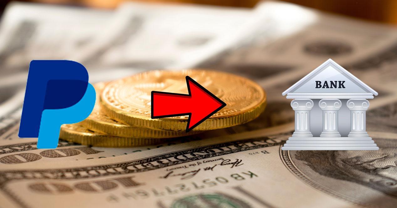 Pasar saldo de PayPal a una cuenta bancaria
