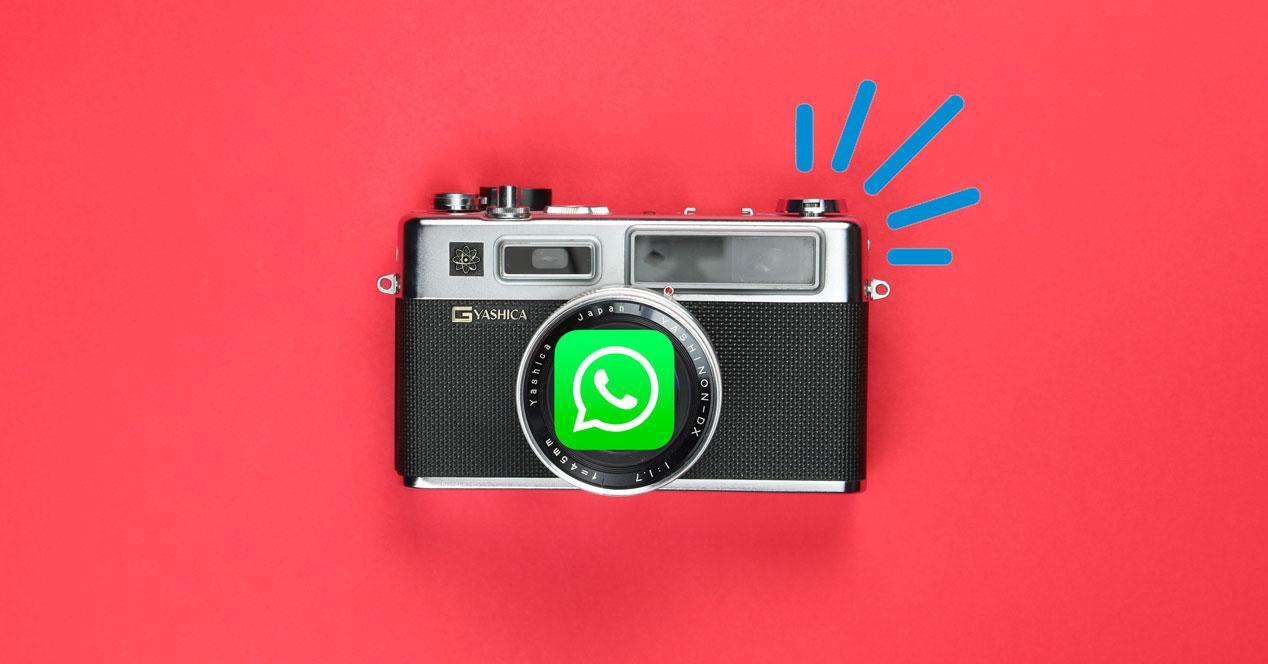 Quitar sonido cámara WhatsApp
