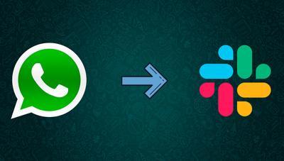Así puedes recibir todas las notificaciones de WhatsApp en Slack gracias a IFTTT