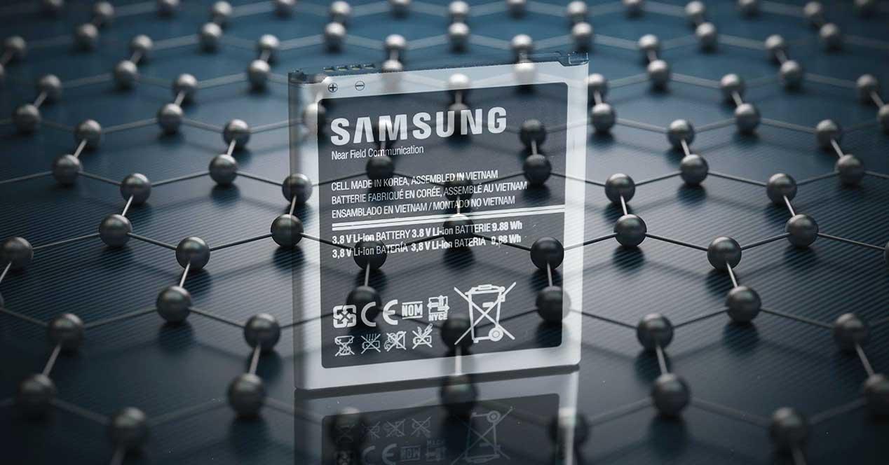 samsung batería grafeno
