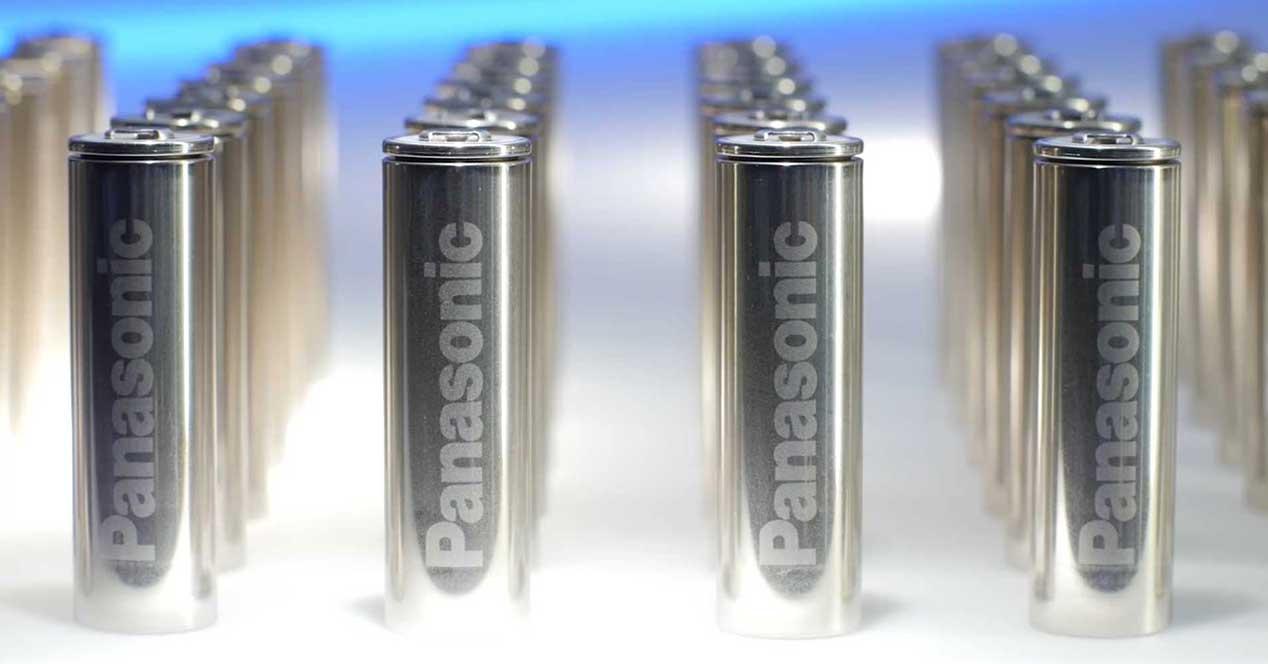 tesla panasonic bateria