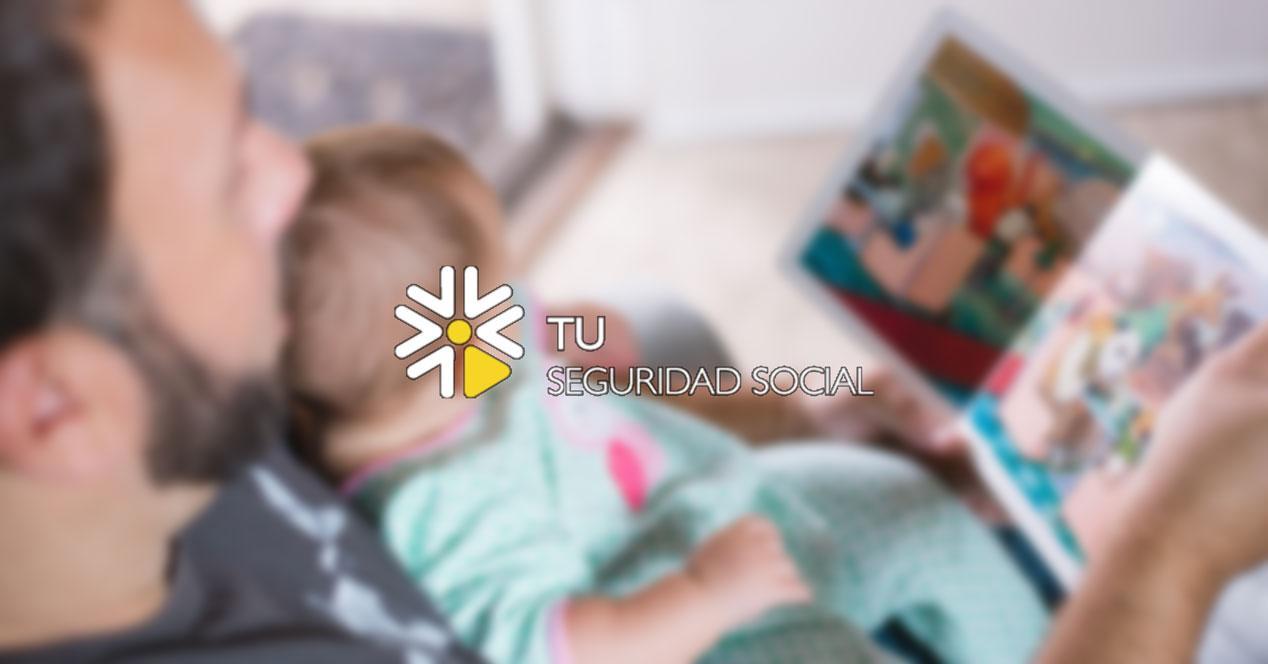 Tramitar la baja por paternidad online