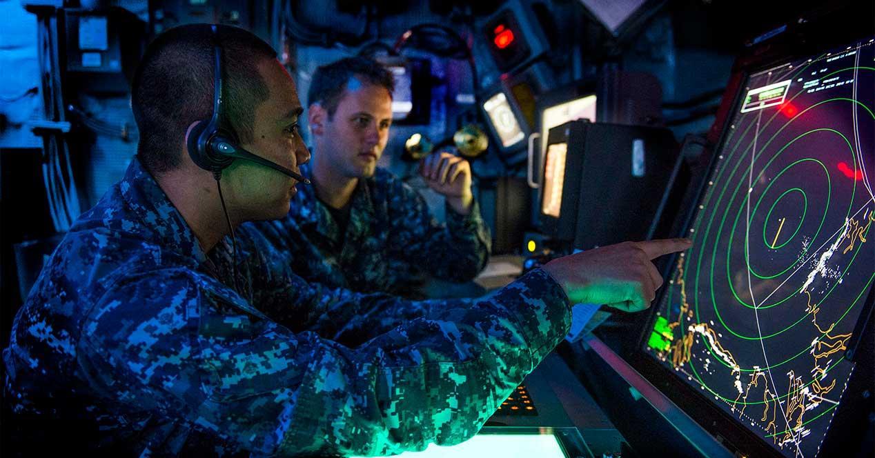 us navy armada control pantalla tactil