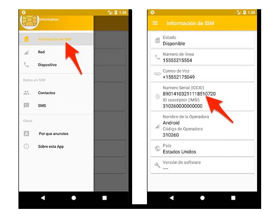 Ver el ICC en Android