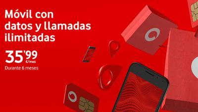 Vodafone lanza un descuento de hasta 10 euros en sus tarifas Ilimitadas