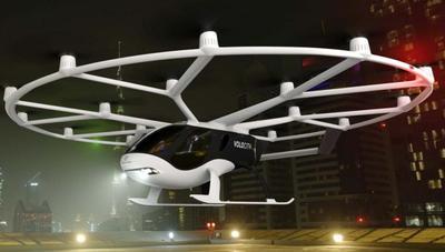 VoloCity: así es el primer taxi volador que es una mezcla entre helicóptero y dron