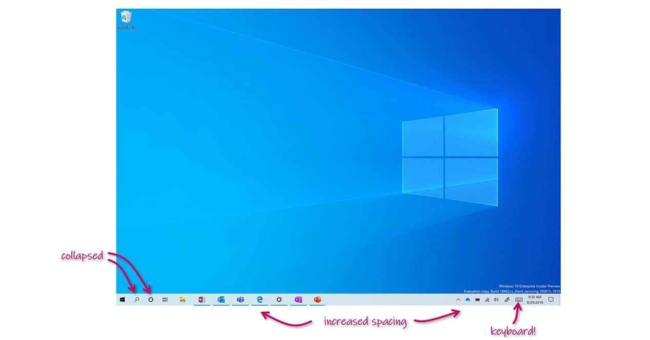 windows 10 modo tablet 2-en-1
