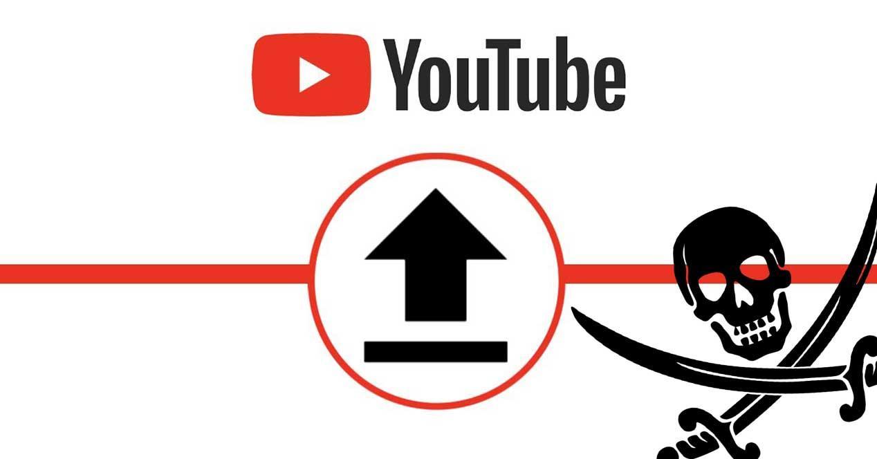 youtube contenido pirata
