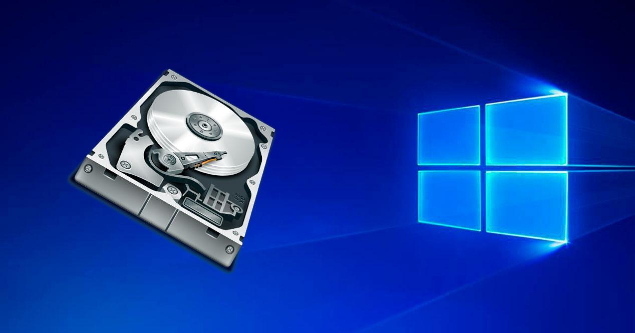 Aprovechar espacio no asignado en Windows 10