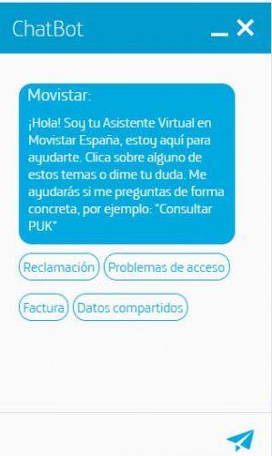atención al cliente en Movistar