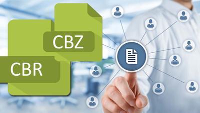 Qué es un archivo con extensión CBR o CBZ y cómo abrirlo