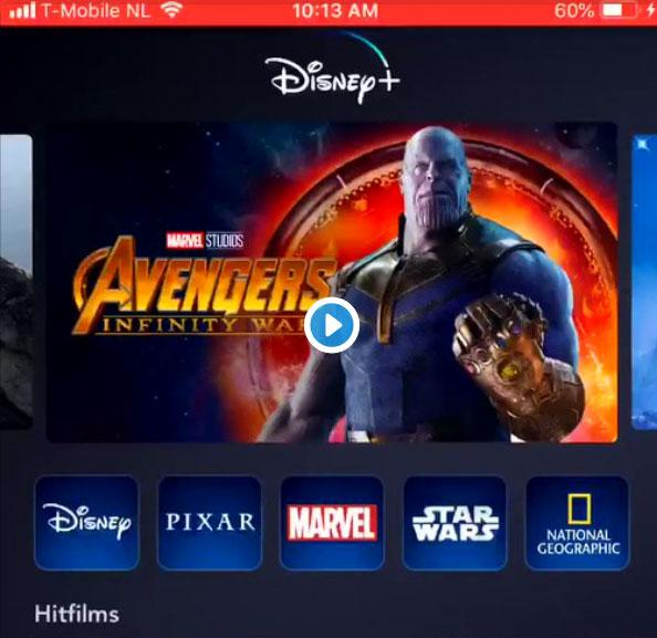 Disney+ móvil