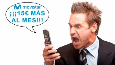 No, Movistar no te sube 15 euros al mes, es un timo para que te cambies