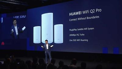 Huawei anuncia un router que mezcla WiFi Mesh y PLC