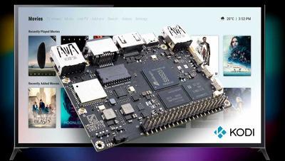 Esta alternativa a Raspberry Pi permite tener Kodi o Android con soporte 4K