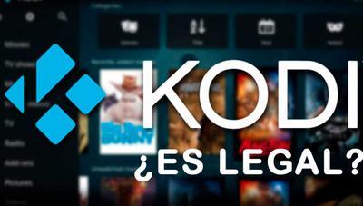 ¿Es legal Kodi?