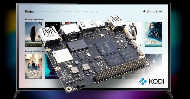Ver noticia 'Esta alternativa a Raspberry Pi permite tener Kodi o Android con soporte 4K'