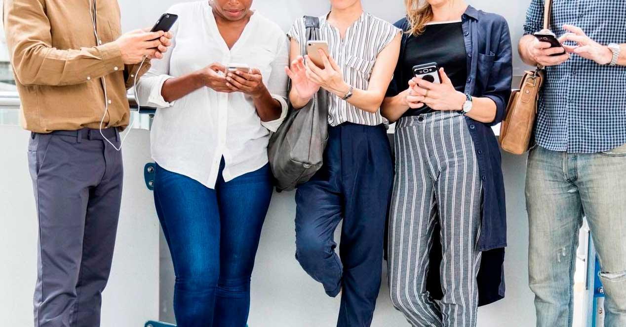 líneas móviles